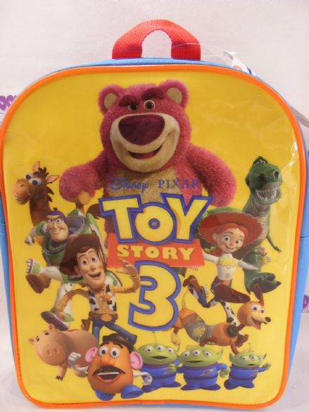 BNWT TOY STORY 3 CHILD'S BACKPACK PERFECT FOR SCHOOL